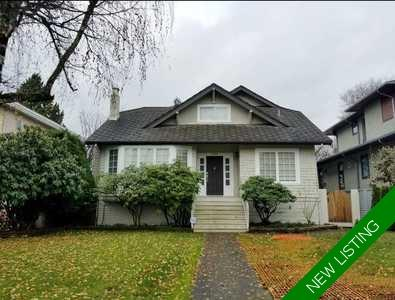 Kerrisdale House for sale:  6 bedroom 3,385 sq.ft. (Listed 2018-12-02)