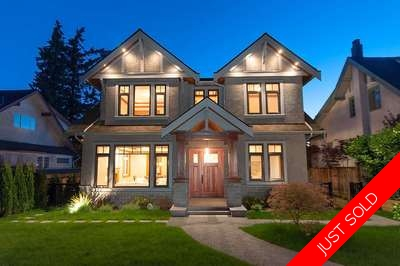 South Granville House for sale:  6 bedroom 4,630 sq.ft. (Listed 2016-06-25)