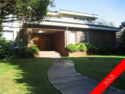 Cambie House for sale:  5 bedroom 3,900 sq.ft. (Listed 2011-12-28)