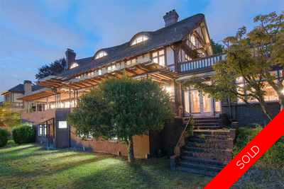Shaughnessy House for sale:  5 bedroom 12,320 sq.ft. (Listed 2017-07-15)