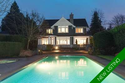 Kerrisdale House for sale:  4 bedroom 6,326 sq.ft. (Listed 2017-11-12)