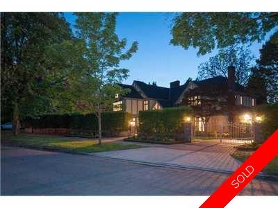 Shaughnessy House for sale:  6 bedroom 6,965 sq.ft. (Listed 2015-05-19)