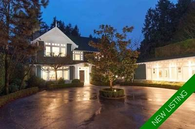 Kerrisdale House for sale:  5 bedroom 6,326 sq.ft. (Listed 2019-01-25)